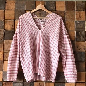 Vince Striped Tunic